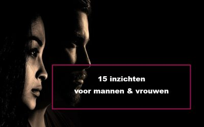 15 inzichten voor mannen & vrouwen