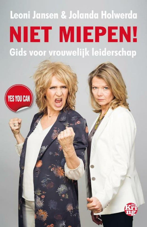 Niet miepen! Leoni Jansen Jolanda Holwerda boekentip www.empowerwomen.nl